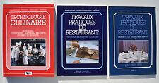Cuisine : TECHNOLOGIE CULINAIRE + TRAVAUX PRATIQUES DE RESTAURANT - Editions BPI