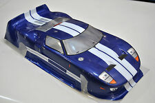 R0111BL VRX Carrozzeria Stradale Blu 1/10/PAINTED BODY 1/10 ROAD VRX BLUE