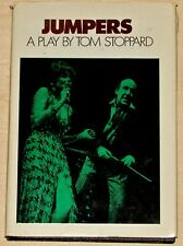Tom Stoppard JUMPERS Hardcover, 1st Edition 1st Printing. Grove Press (1972)