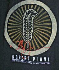 Robert Plant Sensational Space Shifter Concert T-Shirt Tee Men's M Black 2015