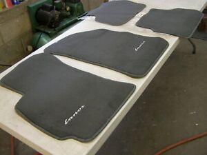 NOS OEM Daewoo Lanos Floor Mats Grey 1997 1998 1999 2000 2001 2002 Mat Set