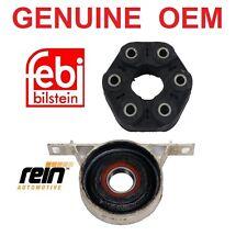 OEM Driveshaft Shaft center Support Bearing Flex Disc Joint SET Fits BMW E46,E85