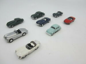 HO 1/87 Scale Lot of 6 Classic Metal Works/mixed brands European cars
