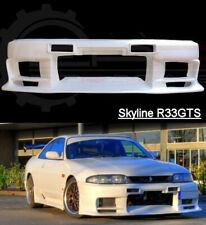 Top Secret Style Aero Front Bumper for Nissan Skyline R33 GTS