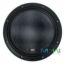 """*NEW* MTX 7512-44 12"""" 75-Series DUAL 4-OHM CAR AUDIO STEREO SUB SUBWOOFER 751244"""