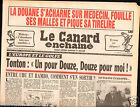 CANARD ENCHAINÉ Birthday Newspaper JOURNAL NAISSANCE 19 SEPTEMBRE SEPTEMBER 1990