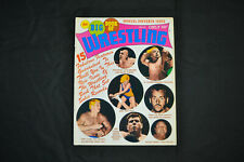 THE BIG BOOK OF WRESTLING - JULY 1969 -GIRL WRESTLERS COVER! (F-VF)