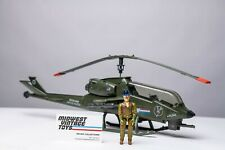 Vintage GI JOE 1983 Dragonfly Helicopter w/ Wild Bill - 100% Complete - HASBRO