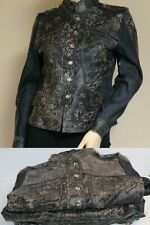 Lot of 5 H&D Classic Leather Collection Jr Size S Bomber Jackets Denim & Leather