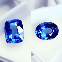 Natural Blue Sapphire Loose Gemstone 8.00 to 10.00 Ct Certified Pairs