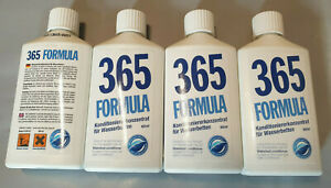 Tradetion 4 Bottles Water Beds Conditioner Formula 365 Big Pack