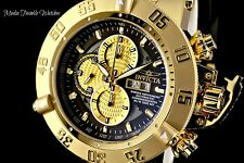 NEW Invicta 56mm GRAND SUBAQUA III SWISS AUTOMATIC SW500 CHRONOGRAPH GOLD Watch