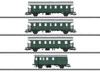 """Märklin H0 43146 Wagen-Set """"Donnerbüchsen"""" der DB mit LED-Beleuchtung NEU + OVP"""