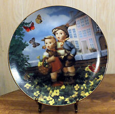Surprise, Little Champions M.I. Hummel Plate - Danbury Mint - L26