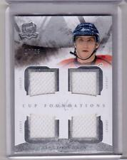 ALEXANDER OVECHKIN 10/11 Upper Deck The Cup Foundations Quad Jersey #d 10/25 SP