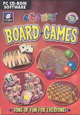 EGAMES-Scheda madre Giochi per PC-SCACCHI DOMINO Mahjongg BACKGAMMON-NUOVE Win 98, XP