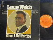 ► Lenny Welch - Since I Fell for You  (360 Columbia 9230)  (Stereo) (PL) ('65)