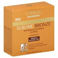 L'Oreal Paris Sublime Bronze Self-Tanning Body Towelettes, 6 Count