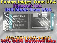 Epson Stylus Pro 4800 Light Cyan T565500 pigment ink lc cartridges not oem xcx