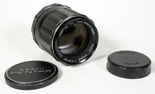 105MM F/2.8 PENTAX SUPER-TAKUMAR M42 SCREW MOUNT LENS W/ FRONT + REAR CAPS