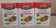 3 Jobe's Organics Plant Food For Vegetable & Tomato Plants 10 oz.