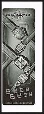 1940s Original Vintage 1948 Ed Kummer Swiss Artistex Ariston Watch Print Ad