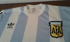 MAGLIA SHIRT VINTAGE ADIDAS ARGENTINA FOOTBALL CALCIO FUTBOL HOME SIZE 5/6 HOME