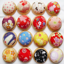 Flower Cross Stitch Needle Sewing Pin Cushion Button Stitch Sewing Supplies New