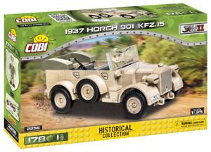 Cobi 2256 Horch 901 1937 KFZ . 15 World War II Historical Collection