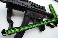 "60"" Tactical Paracord Gun Rifle Bow Shotgun Sling 1 or 2 Point w/QD ZOMBIEFIED"