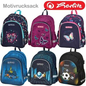 Herlitz Rucksack Motivrucksack Kinderrucksack Jungen Mädchen Kindergarten Kita
