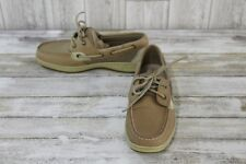 Sperry Bluefish 2-Eye Boat Shoes - Women's Size 6.5 M, Tan
