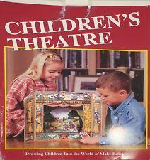 Vintage Children's Theatre Cardboard Tabletop Fairy Tales 24 Figs 15 Backdrops