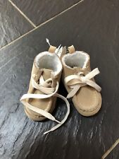 BABY GAP boys Light Brown Suede BOOTS SHOES 3-6 months NEW