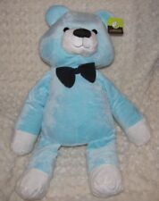 ANIMAL ADVENTURE STUFFED PLUSH BIG HUGE LARGE JUMBO TEDDY BEAR BLUE BOW NEW 28""