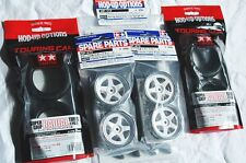 TAMIYA 1/10 RC CAR TIRE(53214)+WHEEL(50672)+INNER(53113) SuperGripRadial,+Wh.In.