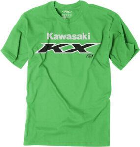 Factory Effex 2020 Youth Kawasaki KX T-Shirt Green All Sizes