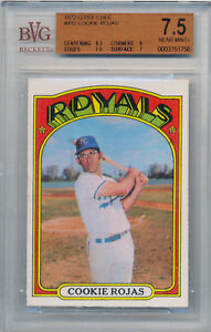 1972 O Pee Chee COOKIE ROJAS Card #415 BVG 7.5 NM+ Old Label w/ Subgrades OPC
