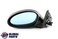 BMW 1 Series 1 E81 E82 E88 Left Heated Wing Mirror N/S Black Sapphire 475