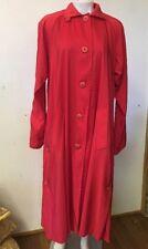 Vision Full Length Fire Retardant Rain Coat  Red Size 6