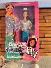 Vintage 1986 Mattel Jewel Secrets Whitney Doll NIB