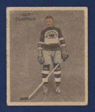 1933-34 WWG Ice Kings DIT CLAPPER (RC) #1 VG Boston Bruins English Only !