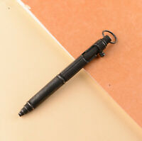 HEAVY HIGH QUALITY 86G SELF DEFENSE BLACK STAINLESS STEEL BOLT ACTION TACTICAL P
