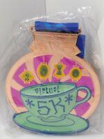 Disney Virtual 5k Run medal Alice in Wonderland Teacups