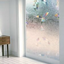 3D Privacy Frosted Static Cling Window Grass Film Superior No-Glue 90 X 200cm