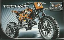 LEGO TECHNIC MOTO DA CROSS NUOVO NEW FUORI CATALOGO E MOLTO RARO  ART 42007