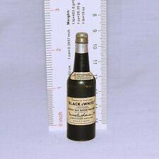 Vintage Black & White Old Scotch Whiskey Promotional Bottle Opener.