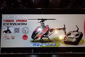 Jamara E-Rix 450 Carbon Pro RADIO CONTROLLED HELICOPTER 31557