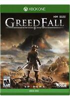 Greedfall Xbox One/series x Game Greed Fall