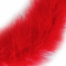 1 Metre Marabou Swansdown Feather Trim Soft Fluffy Craft Swandown Choose Colour